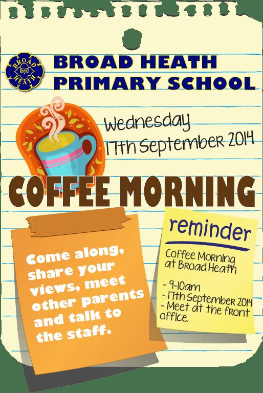 BH Coffee Morning-Sep14