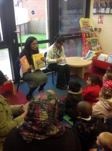 We visited the library and listened to a story. Can you remember what it was about?
