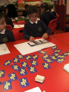 We are learning how to add and subtract.