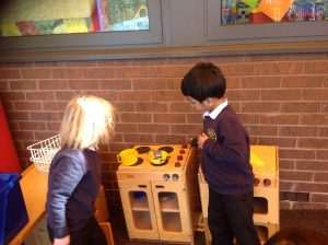 We had time to practise our language skills during role play.