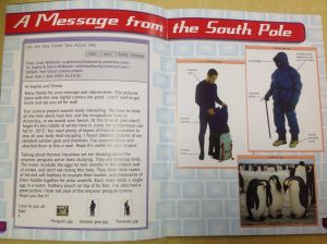 A message from the South Pole