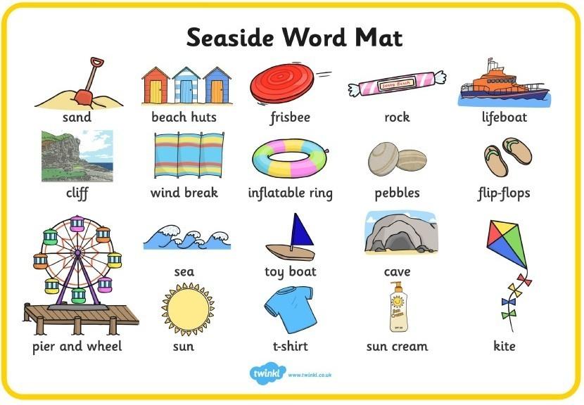 Year 2 Seaside Alliteration Broad Heath Primary School