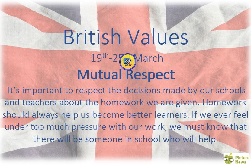 ks1  u2013 british value  u2013 mutual respect