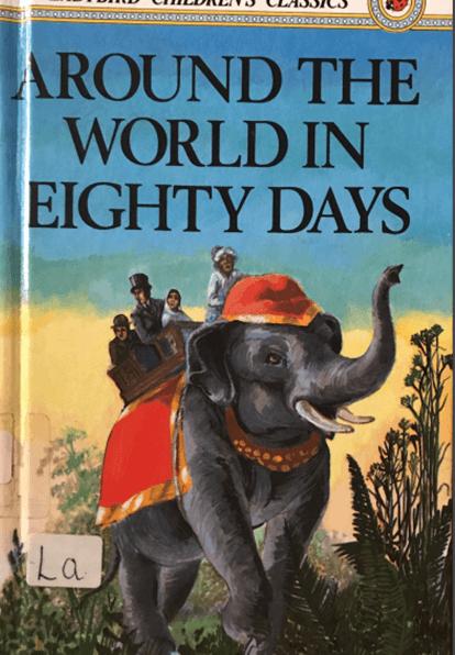 Around The World In Eighty Days Book